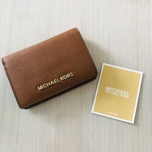 Michael Kors Jet Set Slim Wallet Luggage Authentic